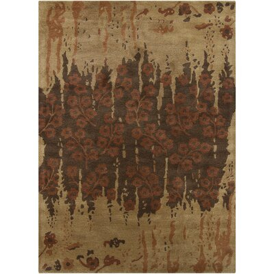 Chandra Bajrang Brown Floral Rug