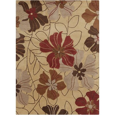 Chandra Rugs Bajrang Floral Rug