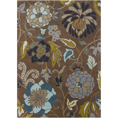 Chandra Gagan Brown Floral Rug