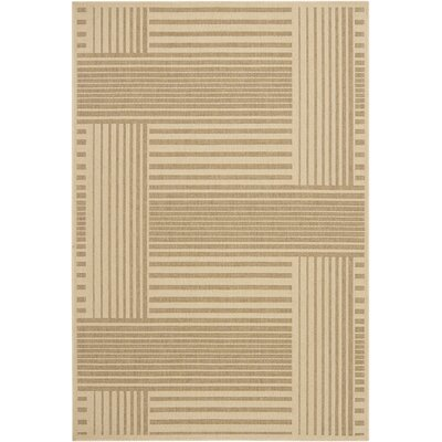 Chandra Ryan Brown Geometric Rug