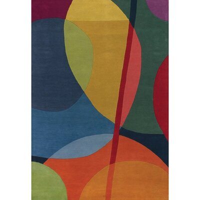 Chandra Bense Garza Multi-colored Rug
