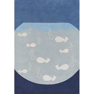 Chandra Rugs Kids Fish Kids Rug