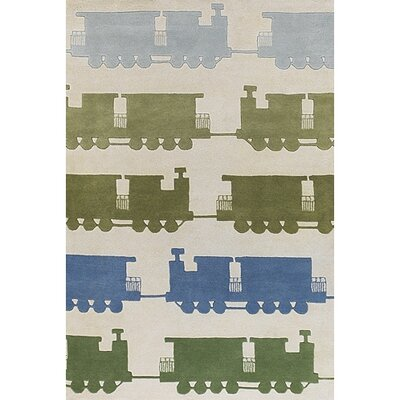 Chandra Rugs Kids Train Kids Rug