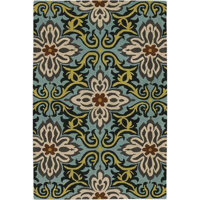 Chandra Amy Butler Multicolored Floral Rug
