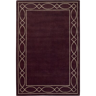 Chandra Rugs Antara Grape Rug