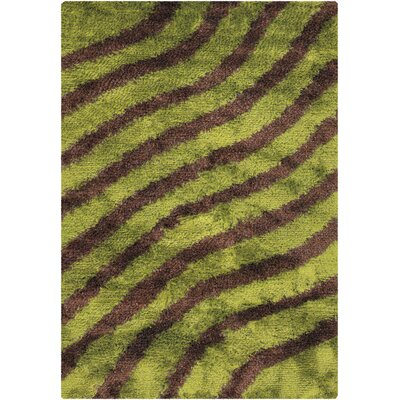 Chandra Rugs Fola Green Rug