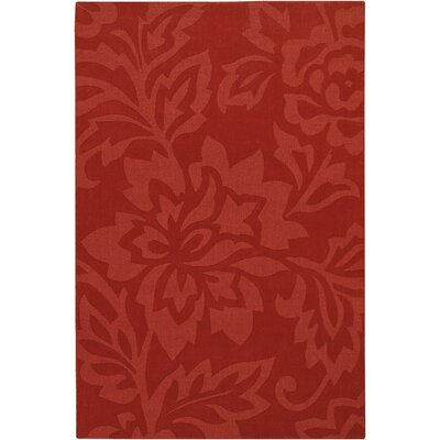 Chandra Jaipur Red Floral Rug