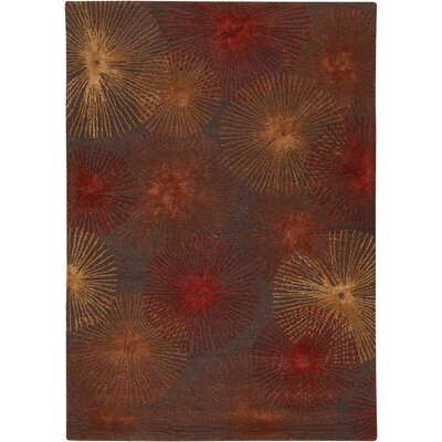Chandra Rugs Revello Red Rug