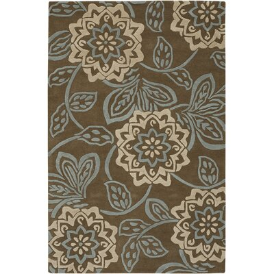 Chandra Rugs Rowe Brown Rug