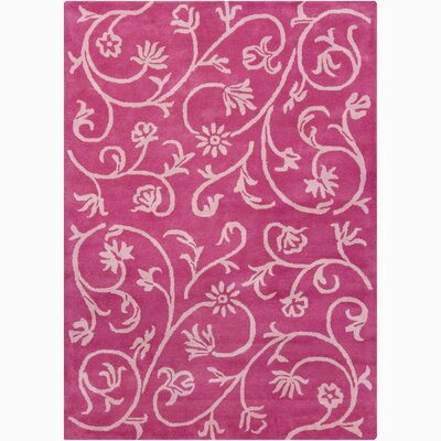 Chandra Rugs Bajrang Swirl Floral Rug
