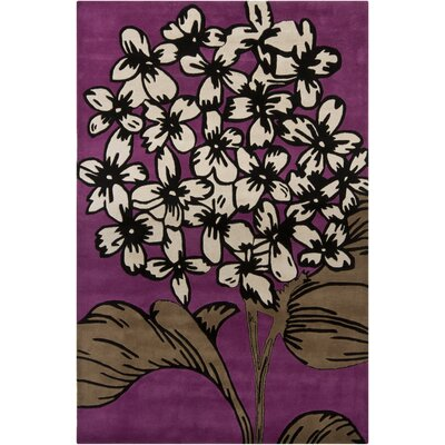 Chandra Rugs INT Purple Rug
