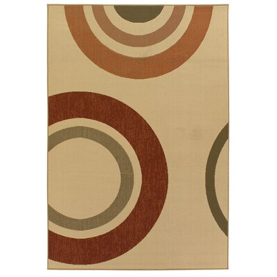 Chandra Rugs Ryan Circles Rug