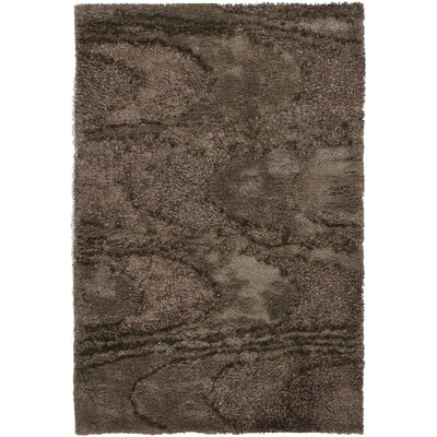 Chandra Areva Shag Brown Rug