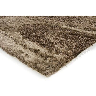 Chandra Rugs Areva Shag Brown Rug