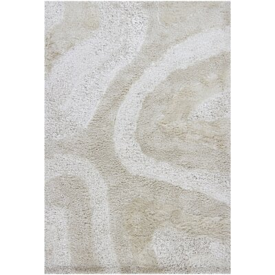 Chandra Rugs Areva Shag Light Beige Rug
