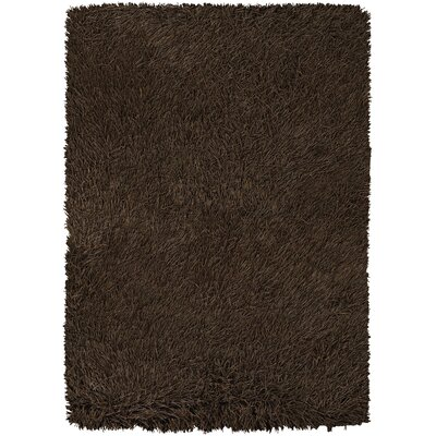 Chandra Poligan Shag Brown Rug