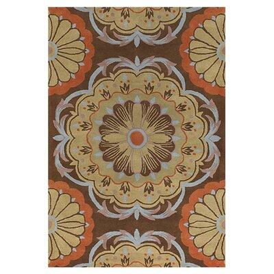 Chandra Rugs Dharma Brown/Orange Rug