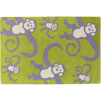 Chandra Rugs Kids Monkey Kids Rug
