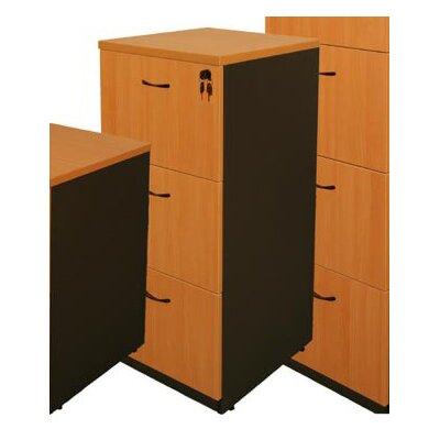 Cooper Furniture Logan Three-Door Filing Cabinet