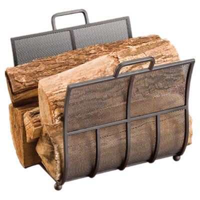 Onyx Steel Log Rack