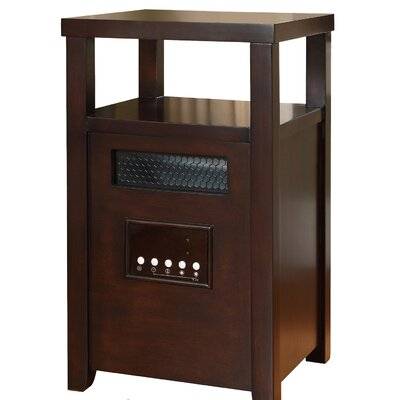 Muskoka Decorative Infrared Cabinet Space Heater with Table Top