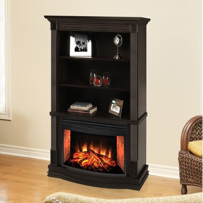 Picton Bookcase Electric Fireplace