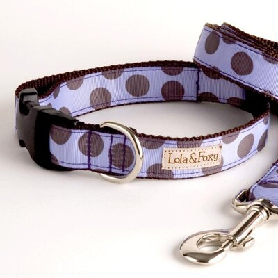 Lola and Foxy Grape Juice Dog Collar