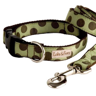<strong>Lola and Foxy</strong> Mint Chocolate Chip Dog Collar