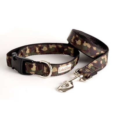 Lola and Foxy Camo Dog Collar