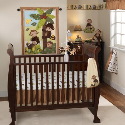 Curly Tails Crib Bedding Collection