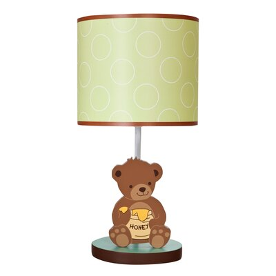 Bedtime Originals Honey Bear Lamp with Shade and Bulb