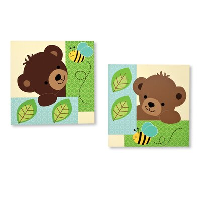Bedtime Originals Honey Bear Wall Décor