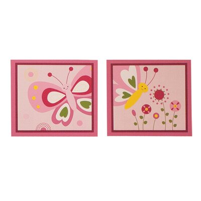 Bedtime Originals Pink Butterfly Wall Décor