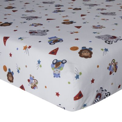 Teammates Fitted Crib Sheet