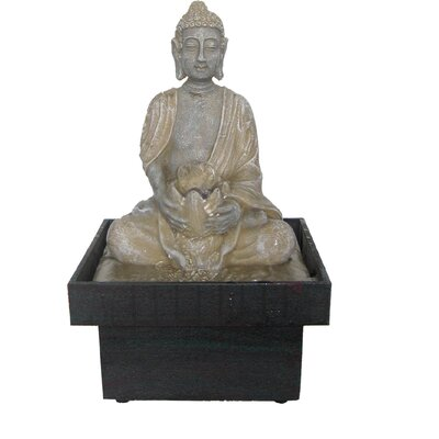 EwaterFeatures Authentic Buddha Spring Statue