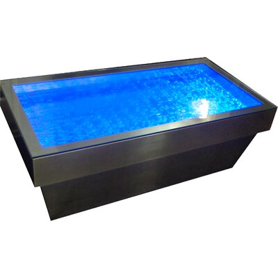 Contemporary Bubbling Water Feature Coffee Table Wayfair Australia