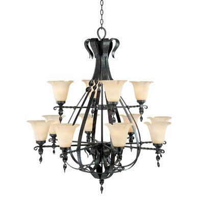 Fredrick Ramond Sheffield 12 Light Chandelier