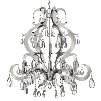 Fredrick Ramond Xanadu 9 Light Candle Chandelier