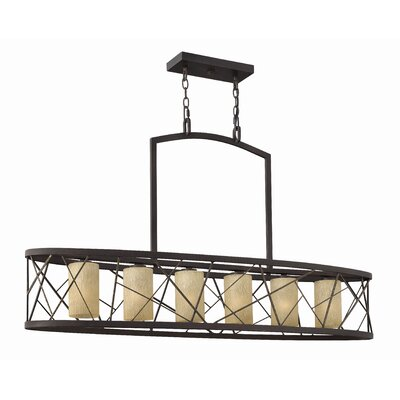 Fredrick Ramond Nest  Kitchen Island in Oil Rubbed Bronze