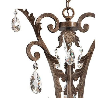 Fredrick Ramond Barcelona 4 Light Inverted Pendant