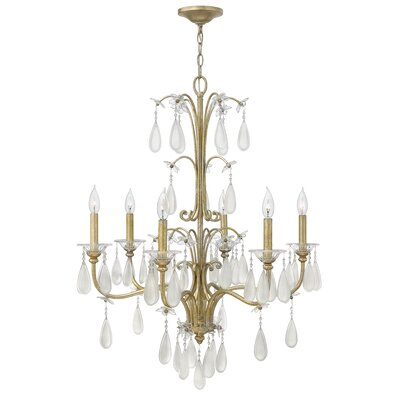 Francesca 6 Light Chandelier
