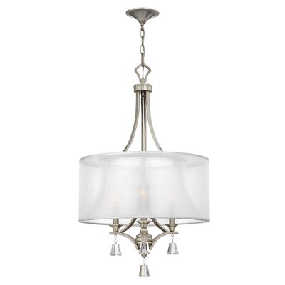 Fredrick Ramond Mime 3 Light Inverted Chandelier