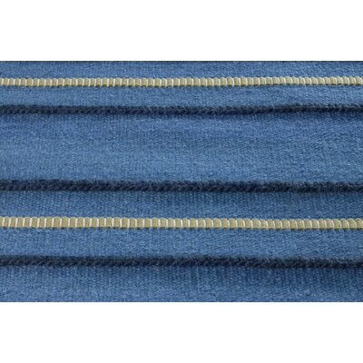 Savannah Blue Striped Rug