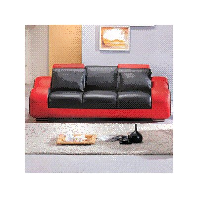 Hematite Leather Sofa