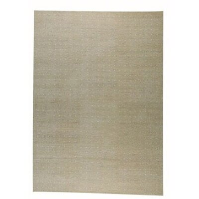 Hokku Designs Snow Masi/White Rug