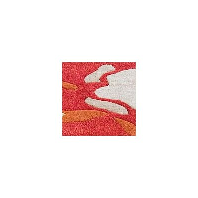 Hokku Designs Poppy Orange Rug