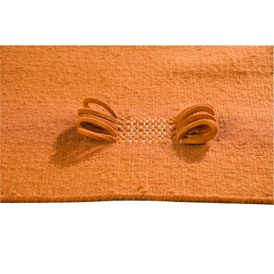 Hokku Designs Eyelet Orange Rug
