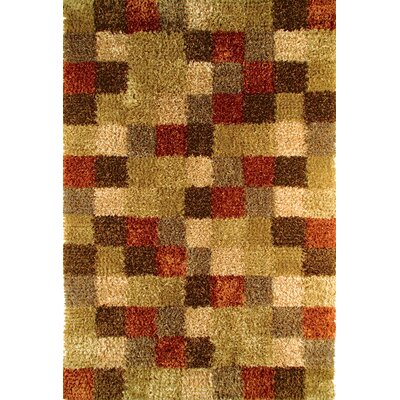 Hokku Designs Madrian Beige/Brown Rug