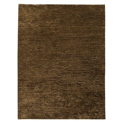 Hokku Designs Husk Dark Brown Rug