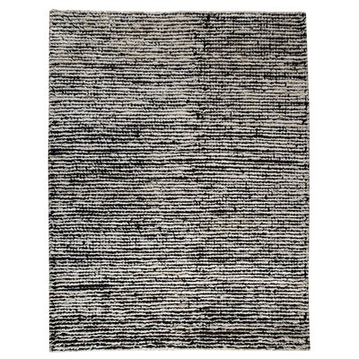 Hokku Designs Husk White/Black Rug